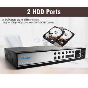 Image 3 - Hybrid 5 In 1 16CH AHD DVR Recorder 1080P DVR 16 Channel 2 SATA HDD 1920*1080 CCTV CVI,TVI DVR 16CH Hybrid DVR Recorder System