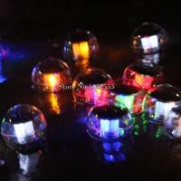 防水ソーラーランプパネルセルフ充電フローティングledボール庭池芝生ランプ風景庭夜ライトHM214