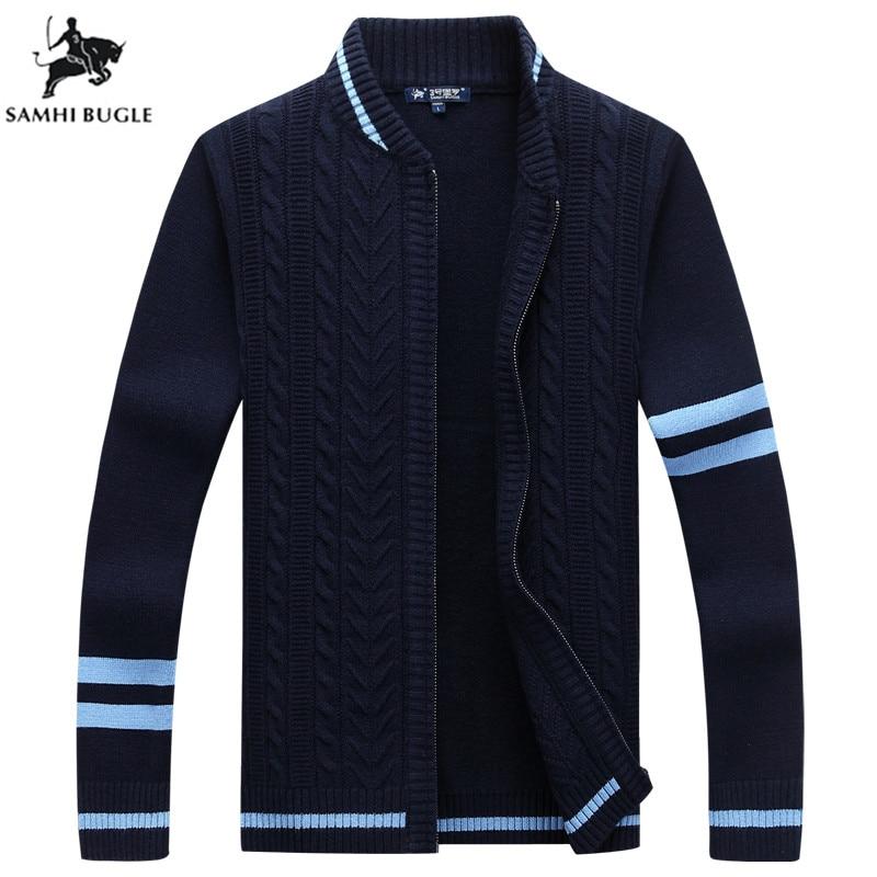 Nouveau arrive Pull hommes automne hiver Cardigans hommes chandails vêtements décontractés pour hommes Zipper Pull Homme chaud tricots Pull