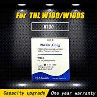 Новый список модели [W100] батарея мобильного телефона для THL W100S W100 батареи сотового телефона