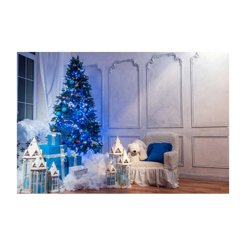 Horizontal vinyl print 3D warm white Christmas living room photography backdrop for photo studio portrait backgrounds ST-515 8x10ft valentine s day photography pink love heart shape adult portrait backdrop d 7324