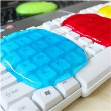 Computer Keyboards Clean Car Super Clean Magic Clear Crystal Rubber  Mud Gglue Dust Color Random