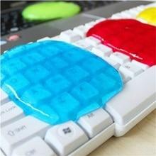 Bilgisayar Klavyeleri Temiz Araba Süper Temiz Sihirli Temizle Kristal Kauçuk Çamur Gglue Toz Renk Rastgele