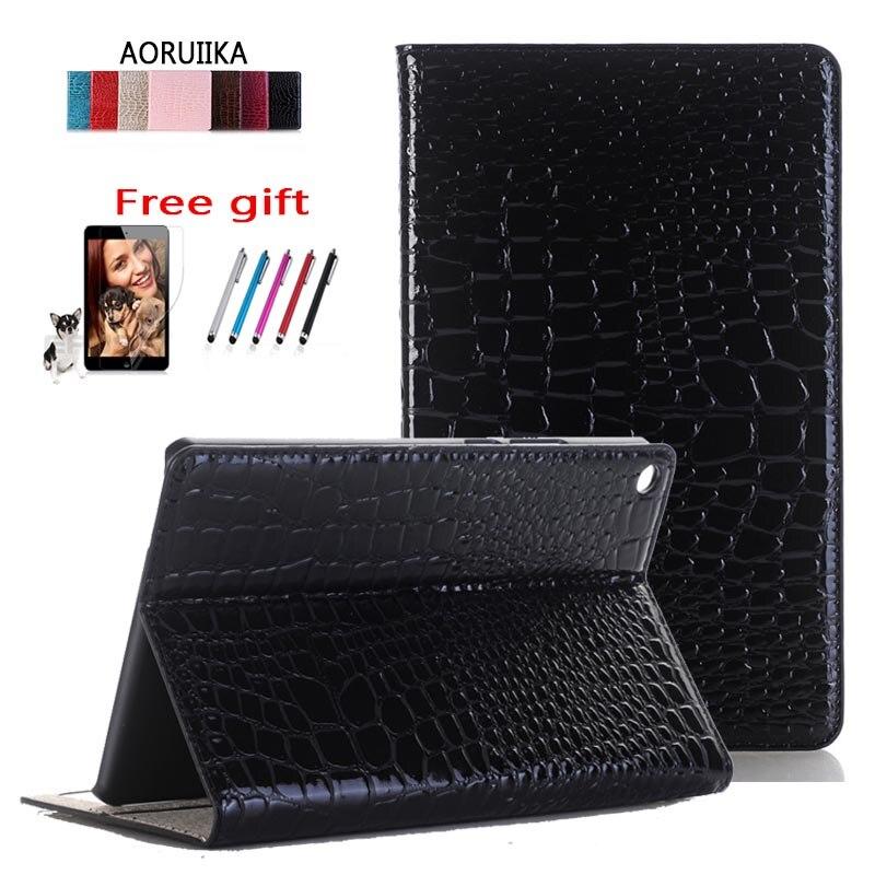 AORUIIKA Cover Huawei Mediapad Funda-Case Tablet Smart-Stand KOB-L09 For T3 Crocodile