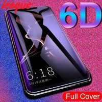 6D de vidrio para VIVO V17 Neo V11 V15 Pro Y17 V9 X21 X23 X21S Protector de pantalla de cristal templado para Vivo Y91 Y93 Y95 Y81 Y83 U10 Y91i