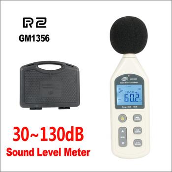 BENETECH miernik poziomu dźwięku cyfrowy decybeli Audio miernik hałasu Decibel Tester GM1356 30-130dB miernik dźwięku tanie i dobre opinie GM1356-BENETECH 30 ~ 130dB audio level meter decibel meter db meter sound level meter sound meter decibelimetro digital