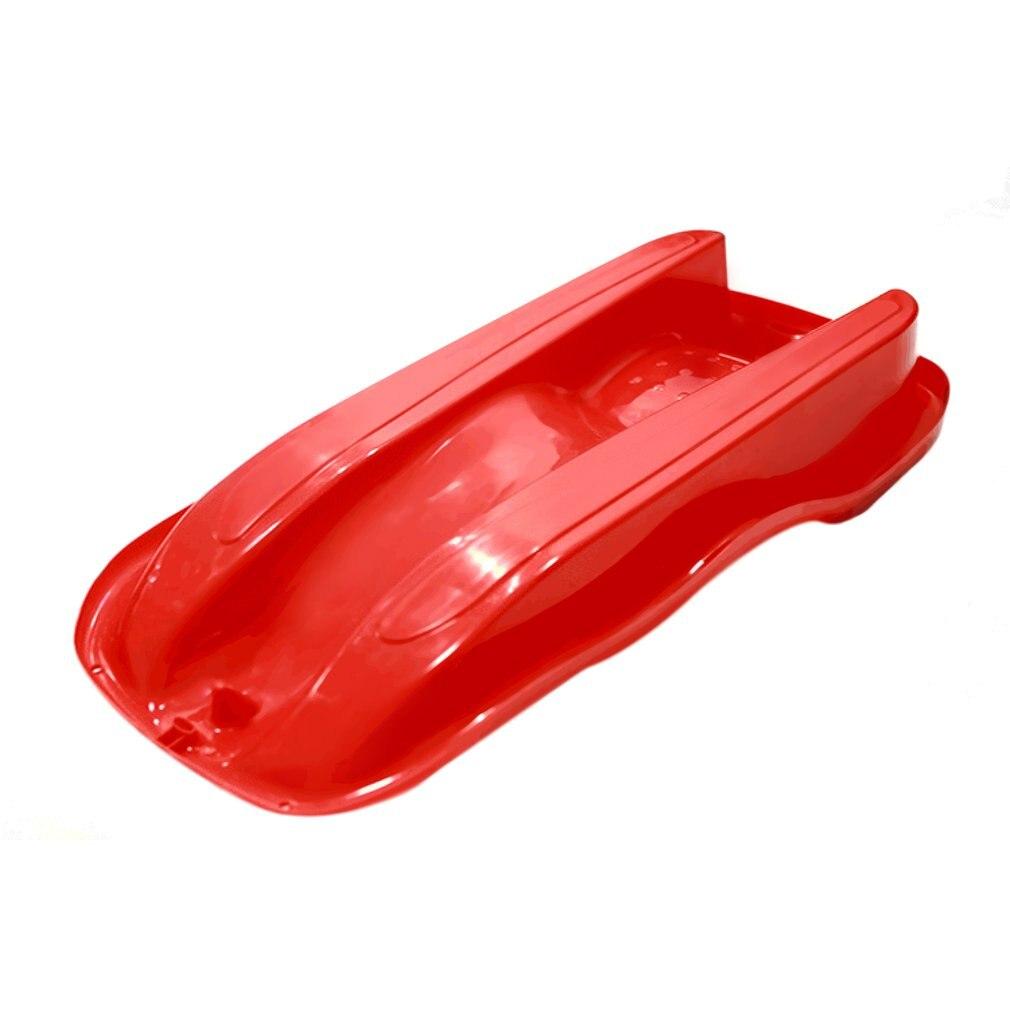 7 couleurs Sports de plein air en plastique planches de Ski Luge neige herbe sable planche Ski Pad Snowboard avec corde pour les doubles personnes - 3