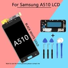 Ограниченное предложение Топ AAA для samsung Galaxy A5 2016 A510 A510F A510M ЖК-дисплей Дисплей Сенсорный экран планшета Ассамблеи Запчасти для авто + Инструменты