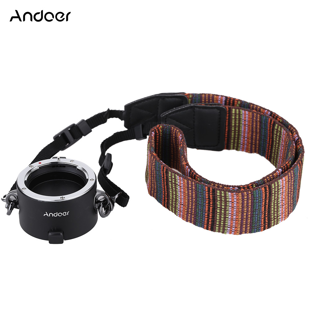 Andoer Stand by Helper Quick Changing Tool Double Dual Lens Holder with Strap for Nikkor Sigma