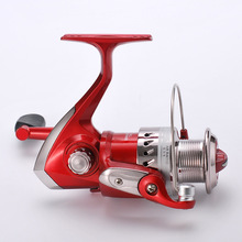 Red Spinning Type NL1000-6000 fishing Reel fish Wheel Fishing Sea Bream Plastic Wire Cup