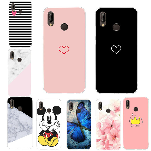 new concept 023e7 2f22c US $0.6 30% OFF|Aliexpress.com : Buy For Huawei P20 Lite Case Lover Heart  TPU Back Cover For Huawei P9 Lite Mini P Smart Mate 10 Lite P20 Pro P10 P8  ...
