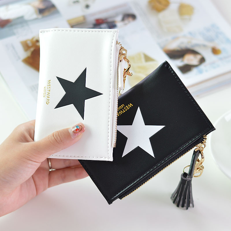 2017 Korean Cute Anime Leather Three-Shaped Slim Mini Coin Purse Women Small Female Clutch Coin Purse Card Holder Dollar Bag 2017 korean cute anime cat leather trifold hasp mini wallet women small clutch female purse brand coin card holder dollar price