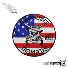 Applique-Patch Iron-On-Jacket Biker Embroidered Motorcycle Custom No-Surrender DIY