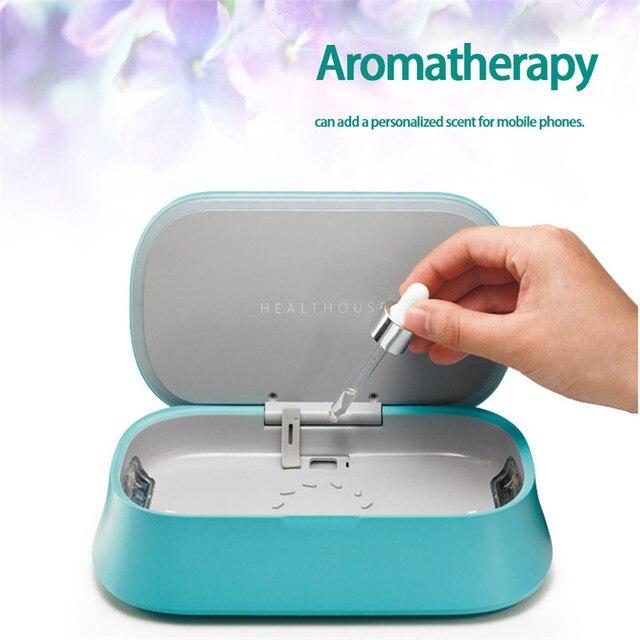 Easycare UV Toothbrush Underwear Mask Cosmetics Phone MP3 Sanitizer Disinfector Ozone Sterilizer Air Purification Incense Box