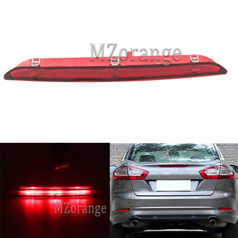 MZORANGE 1PCS High brake Light for Ford Mondeo 2011 2012 2013 Rear Mount Positioned Light Additional Stop Lamp Center Stop LightMZORANGE 1PCS High brake Light for Ford Mondeo 2011 2012 2013 Rear Mount Positioned Light Additional Stop Lamp Center Stop Light