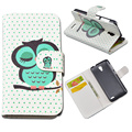PU Leather Case Flip Cover Mobile Phone Case Bag For Alcatel One Touch Pop 2 4.5 5042 5042X 5042D 5042A With Stand Card Holder