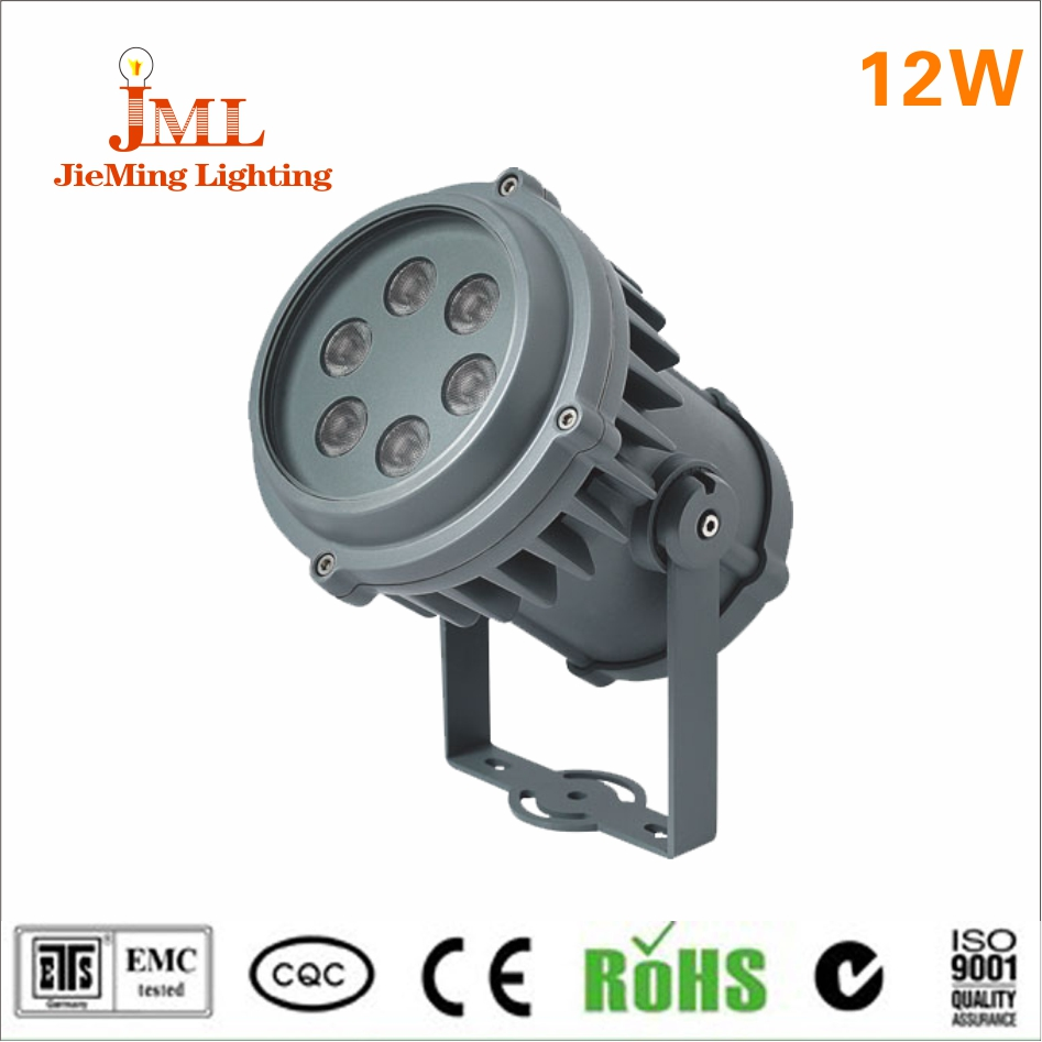 High power 12W 12V LED floodlight aluminum material outdoor lightings landscape floodlight IP68 waterproof led light reflector