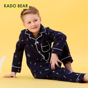 Image 1 - Kids Jongens Katoen Nachtkleding Baby Meisjes Herfst Winter Pyjama Sets Kinderen Cartoon Ondergoed Peuter Warme Slaapkamer Pyjama Pijamas