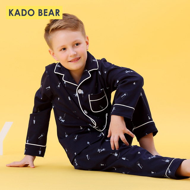 Kids Jongens Katoen Nachtkleding Baby Meisjes Herfst Winter Pyjama Sets Kinderen Cartoon Ondergoed Peuter Warme Slaapkamer Pyjama Pijamas