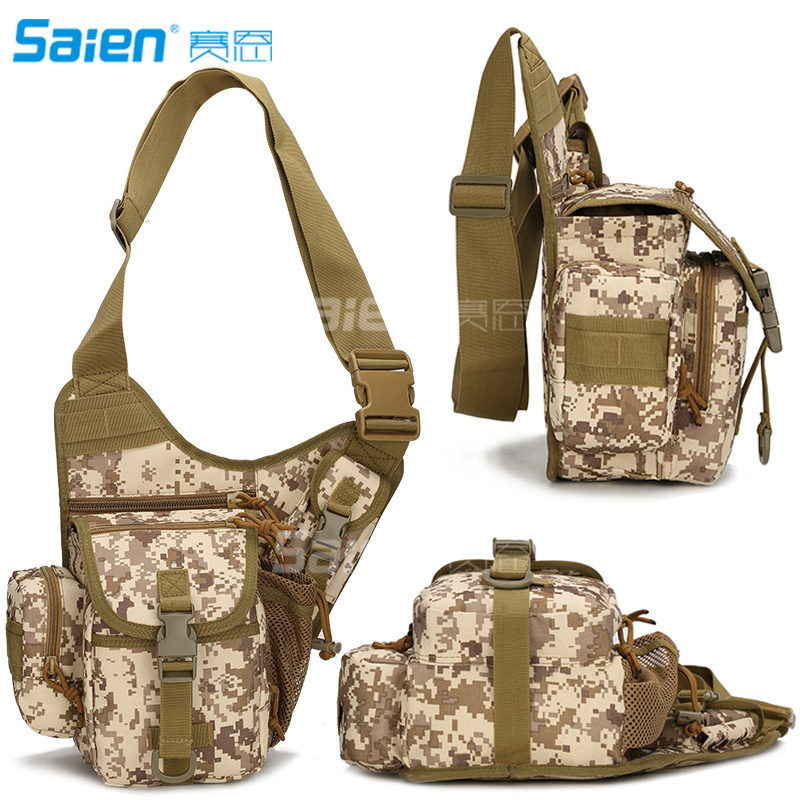 City Jogging Bags Tactical Messenger Bag Edc Sling Pack Fishing Tackle Bag One Shoulder Bag Multi-functional Utility Pouch Versipack Outdoor Bumba To Reduce Body Weight And Prolong Life Sports Bags