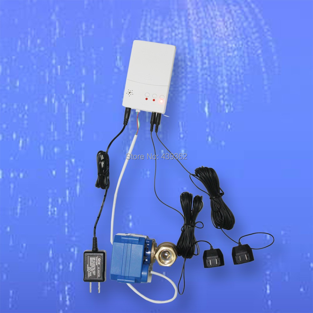 Hot Selling in East Asia Home/Commercial Professional Water Leak Alarm Sensor WLD-807 with 1 Motorized Ball Valve чехлы для планшетов cross case чехол cross case el для huawei mediapad m3 8 4