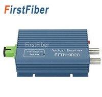 Алюминия FTTH CATV AGC Micro SC APC симплексный разъем с 2 выходной порт для PON FTTH OR20 CATV волоконно-оптический приемник