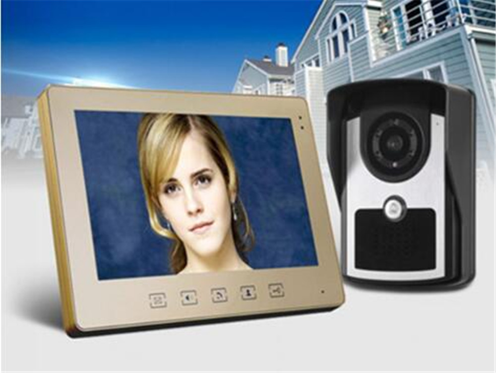 10.1 Inch Big Screen Wired Intercom Video Door Phone