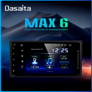 "Dasaita 7"" Car 2 Din Android 9.0 Radio GPS for Toyota Corolla Camry Prado RAV4 Highlander Yaris Tundra Sequoia 4 Runner 86 Scion(China)"