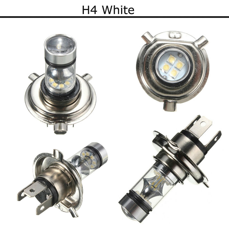 Diy Car Spare Parts Car Accessories Universal 12V 100W 1000LM 9008/H13 H1 H3 H4 H7 H8/H11 H16 White Color, Car Led Fog Light spare parts pc00002 h used 100