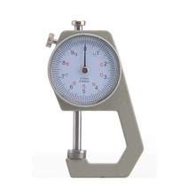 Cheap price 0-20mm/0.1mmdial Thickness Gauge Leather Paper Meter Tester for Hollow Pipe or Circular Tube Caliper Gauge Measuring Tools