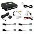 4-Sensor Car Video Rearview Visual Parking Sensor Backup Radar System 10 Colors Choice #FD-877