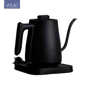 Image 1 - YOULG מים קומקום חשמלי קפה סיר חימום בקרת טמפרטורה אוטומטי כבוי הגנה Wired קומקום 220V