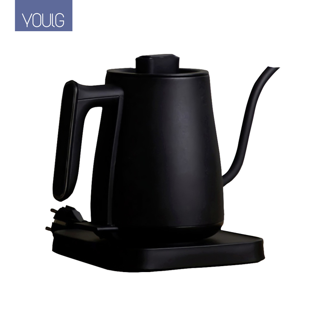 YOULG מים קומקום חשמלי קפה סיר חימום בקרת טמפרטורה אוטומטי כבוי הגנה Wired קומקום 220V