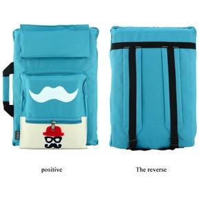 Image 5 - 8K Kids Art Bag for A3 Drawing Board Paint Set Travel Sketch Bag for Canvas Painting Art Supplies for Children Backpack Artist