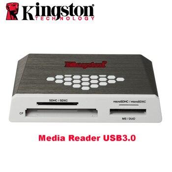 картридер KINGSTON Micro SD Кард-Ридер USB 3.0 Считыватель Внешний CF TF SDHC/SDXCUHS-1 Microsd многофункциональный Вспышки Устройство Чтения Карт памяти