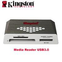 USB3.0 קורא מדיה CF TF קורא כרטיסי מיקרו SD קינגסטון MS SDHC/SDXC UHS-I Microsd פלאש multi-פונקציה כרטיס זיכרון מתאם USB