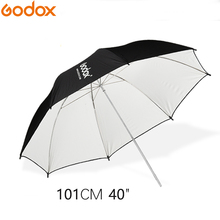 """Godox 40 """"101 سنتيمتر أبيض وأسود عاكس الإضاءة مظلة بمصابيح إضاءة للاستوديو فوتوجرافي"""