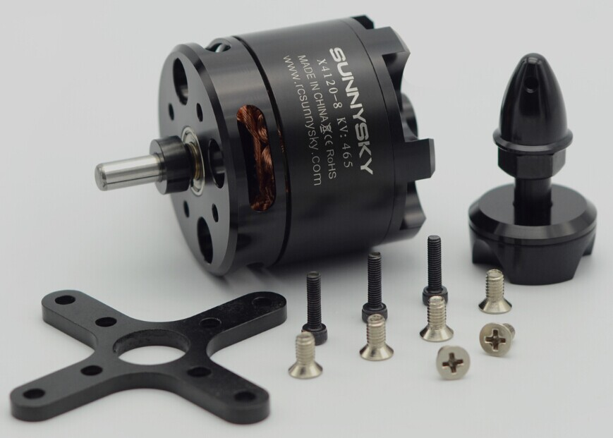 SUNNYSKY X4120 KV465 KV550 Outrunner Brushless Servo Motor for FPV Quadcopter drones f08540 sunnysky a2208 1260kv 2 3s outrunner brushless motor angel series for aircraft quadcopter hexcopter