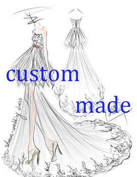 custom made wedding dress - DISCOUNT ITEM  0% OFF All Category