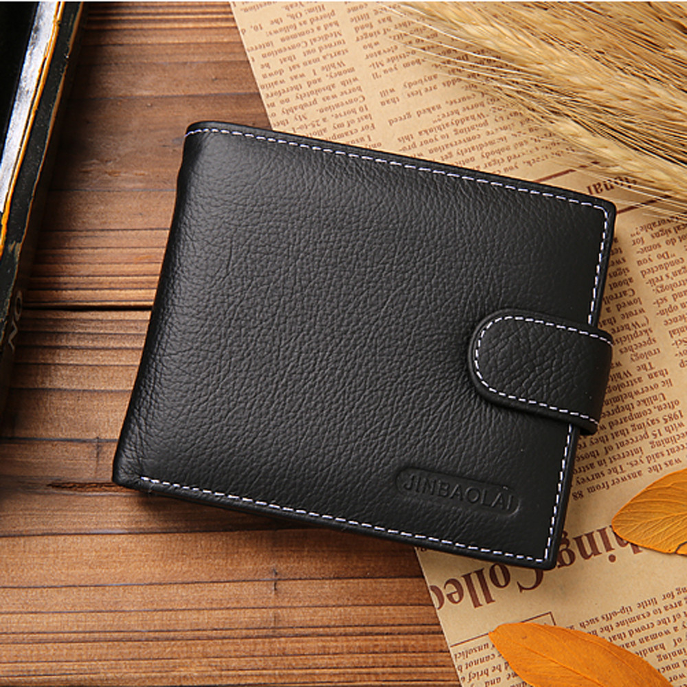 Men Wallets Short Bifold Business Leather Wallet Money Card Holder coin Purse Small Purse Carteira Masculina gift baellerry small mens wallets vintage dull polish short dollar price male cards purse mini leather men wallet carteira masculina