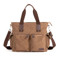 Large capacity Messenger Shoulder Men Satchel S Laptop School Briefcase Bag