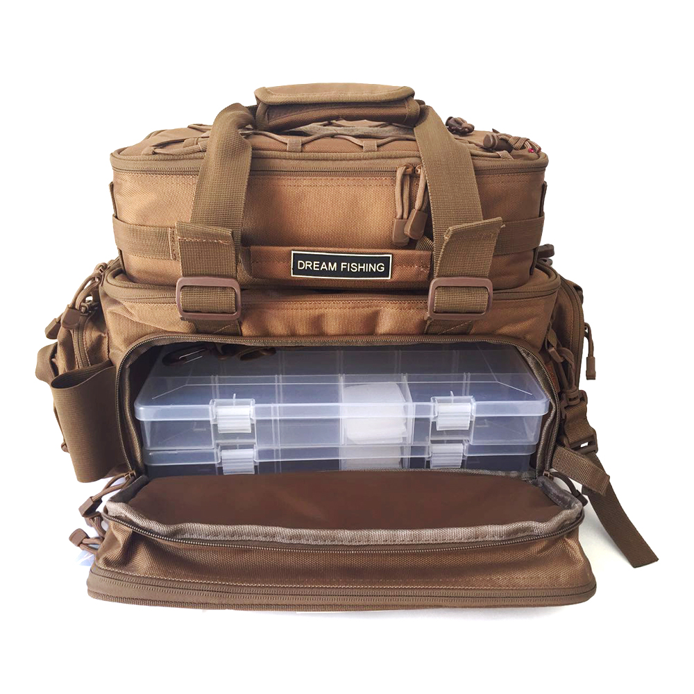 Multifunctional Fishing Backpack Tackle Bag Detachable Combination Lure Backpack Fishing Gear Storage Shoulder Handbags Famous For Selected Materials Novel Designs Delightful Colors And Exquisite Workmanship