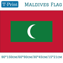 Free shipping Maldives National Flag 30*45cm/15*21cm/90*150cm/60*90cm For World Cup / National Day / Event / Office national day cameroon gifts