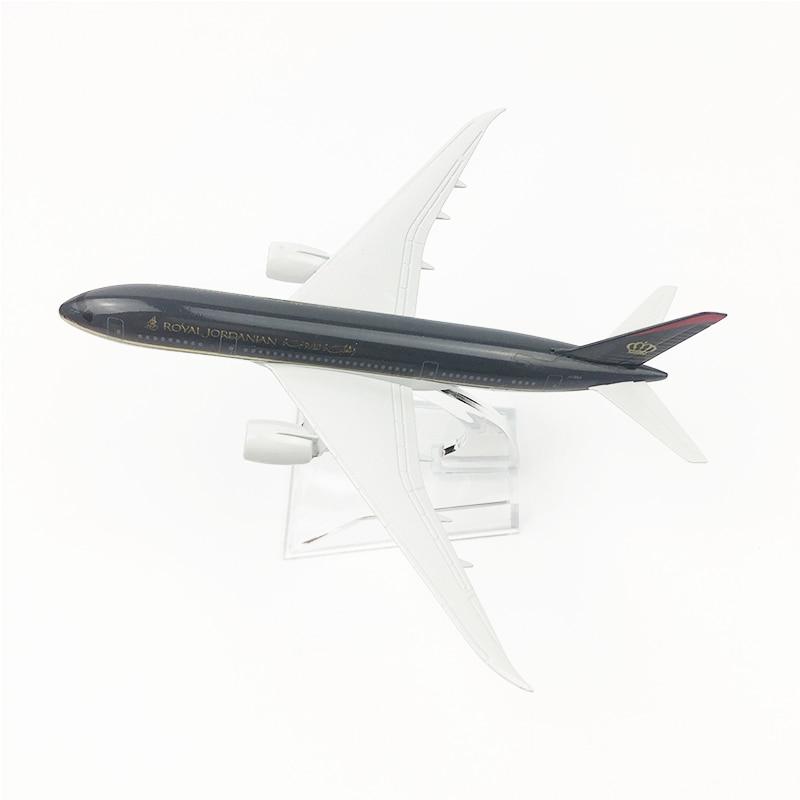 16cm Jordan Airlines Airplane Model
