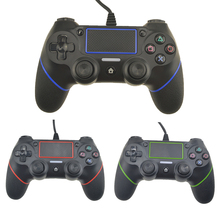 Для проводного контроллера PS4 Gamepad для Playstation Dualshock 4 джойстика Controle Multiple Vibration 2.1M Cable для консоли PS4