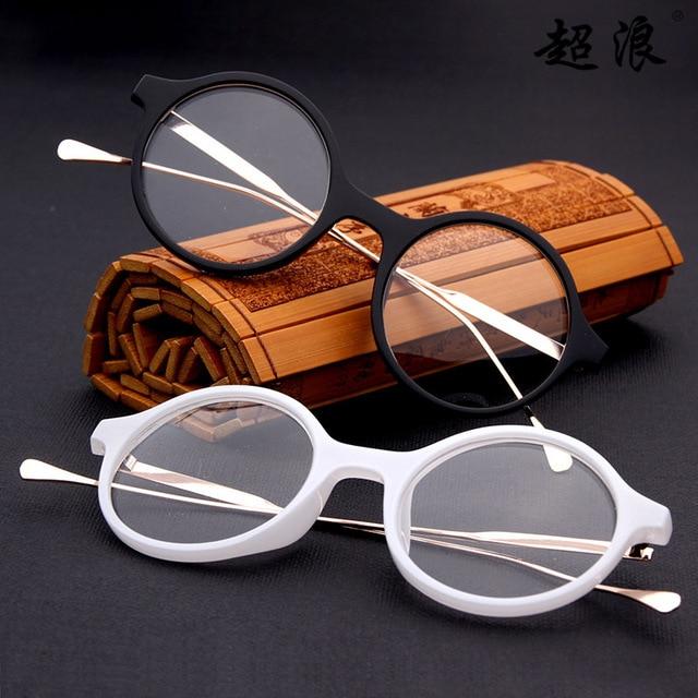 f46505435f0 Hipster Vintage Round Eyewear Frames Optical Myopia Clear Lens Glasses  Frame Female Fashion Spectacle Frame Eyeglasses Women Men