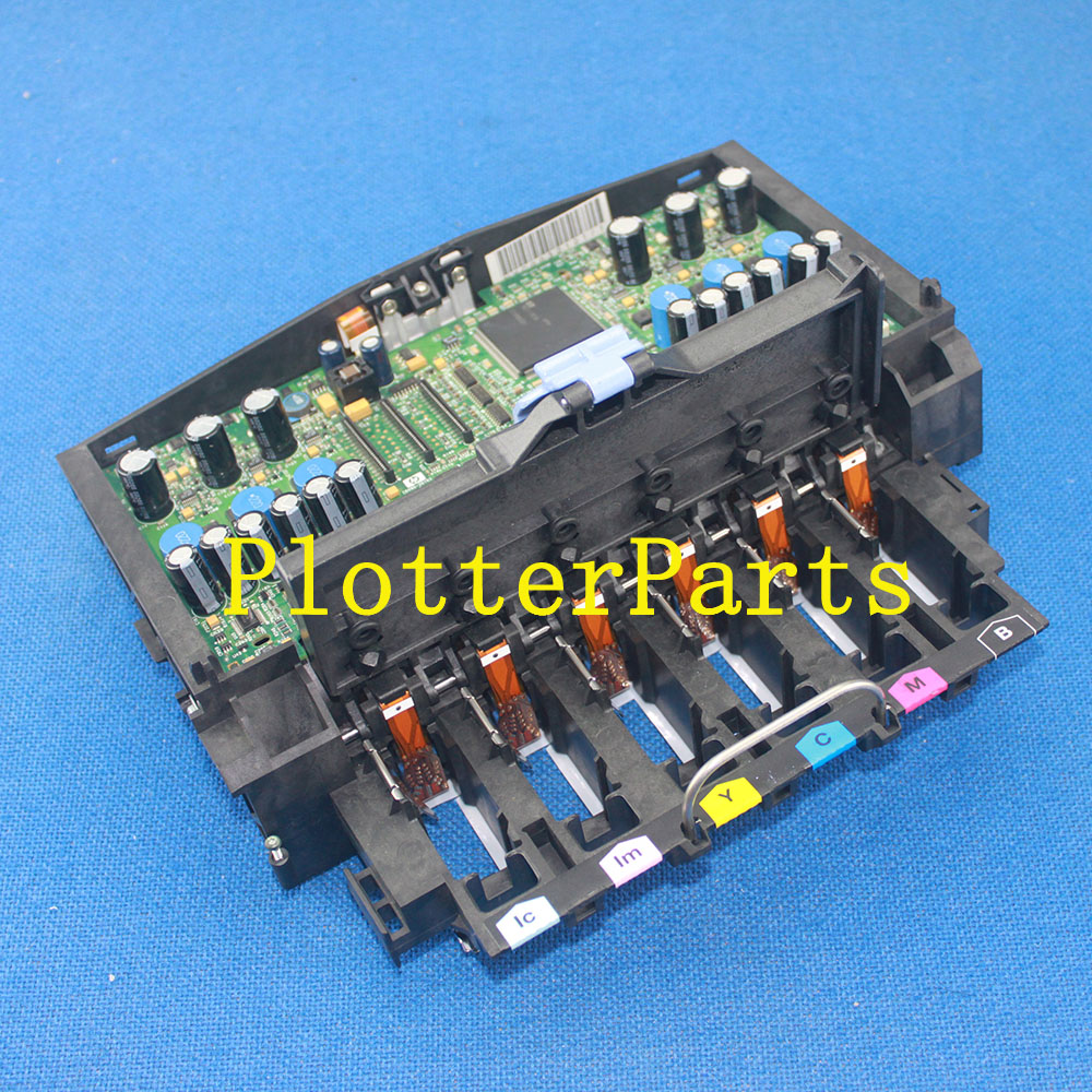 Q1251-69273 C6090-60236 Q1251-69070 Carriage assembly HP DesignJet 5000 5500 5100 plotter parts Original used new original for hp designjet 5000 5000ps 5500 5500ps q1253 60041 c6095 60186 ink tubes assembly dey 60 inch plotter parts