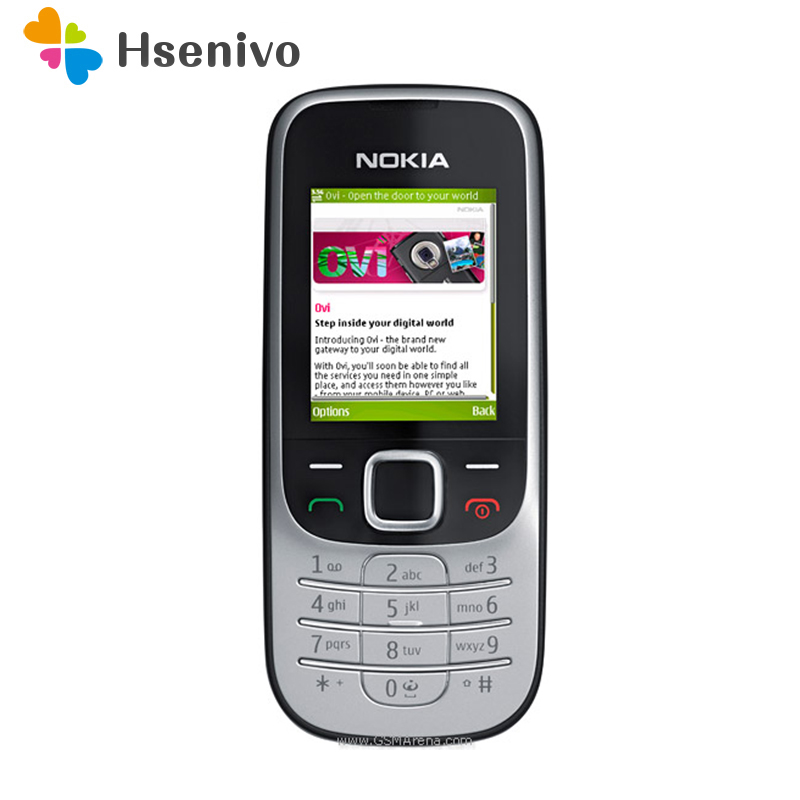 Original Unlocked Nokia 2330 Classic Java Bluetooth  Cheap 2330C Unlock Refurbished Cell Phone One Year Warranty Free Shipping
