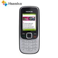 Original desbloqueado nokia 2330 clássico java bluetooth barato 2330c desbloquear telefone celular remodelado um ano de garantia frete grátis