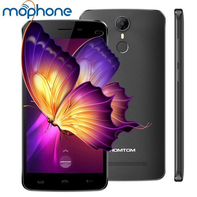HOMTOM HT27 Smartphone 3G 5.5inch 1280*720pixel MTK6580 Quad Core 1GB + 8GB 8.0MP+5.0MP 3000mAh Battery Fingerprint Smart Phone